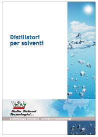 Catalogo distillatori IST